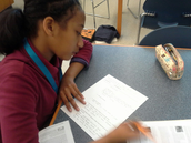 Students analyzed findings to determine their impact on modern society.