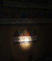 Flashlight Alphabet 0r Number Hunt