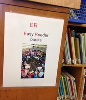 Signs for the New Easy Reader Section