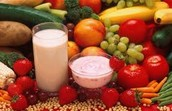 Fruit, Vegetables, And Dairy Products