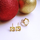 The Arabesque Cocktail Ring and Earrings from £25