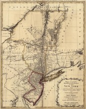 What region was the New York colony in?