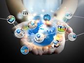 foto de conexion red en el mundo