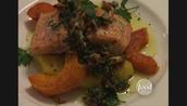 Oven Baked Salmon/Salad
