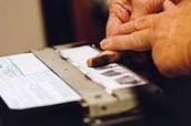 Getting fingerprint