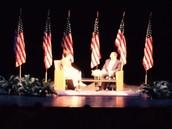 Cary MS Students Meet Former Defense Secretary Leon Panetta