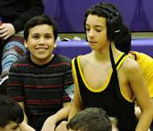 Images from December 19 wrestling tournament