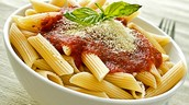 pasta (complex carbohydrates)