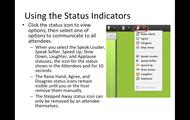Using Status Indicators
