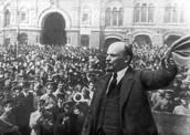 Comrade Lenin himself fights along side us!