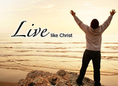 Live like jesus in the worl