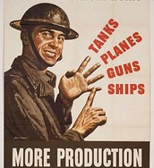 Tanks, Planes, Guns, Ships, MORE PRODUCTION