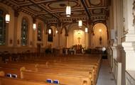 Inside the Holy Trinity Church