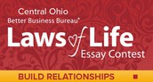 Central Ohio Better Business Bureau's Laws of Life Essay Contest