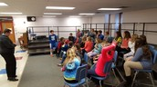 5th grade choir started on Thursday. Great turnout!