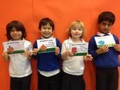 Last week's award winners