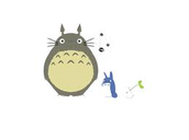 totoro and his friend