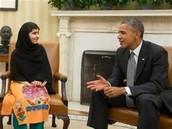 Malala Meets Barack Obama