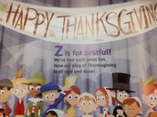 Gr 1-2 tell the Thanksgiving story...
