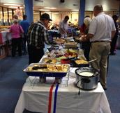 Veterans Day Breakfast in FSMS Library