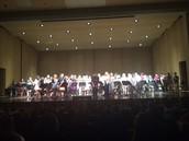 5th grade final band concert was a big success!