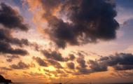 Sunset in Trinidad & Tobago