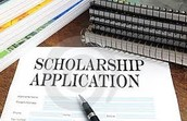 A few scholarships currently accepting applications...
