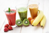 Yummy and healthy smoothies