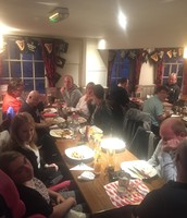 Our monthly Meal's Out & Pub Nights