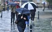 Rainfall in England