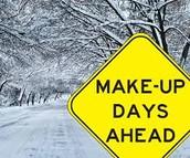Snow Make-Up Days!