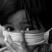 Wear a mask to protect your lungs