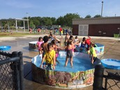 Kindergarten Water Day!