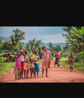 Cute little children in Uganda