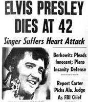 Elvis Dies.