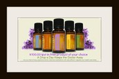 Win $100.00 in free doTERRA products of your choice!