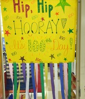 Students celebrated the 100th Day of School on Jan 26