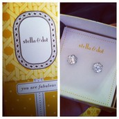 SPARKLE STUDS ONLY $19!