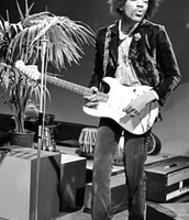Jimi Hendrix. 1966-1970
