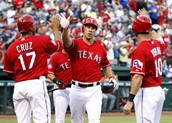 Texas Rangers working together