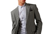 The Development of a Light Grey Suit