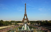 Take a picture with the Eiffel Tower