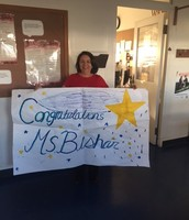 Ms. Bishar - Star Staff of the Month