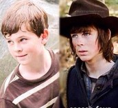 My favorite actor chandler Riggs who plays Carl.