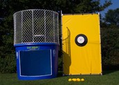 Dunk Tank (outside of cafeteria)