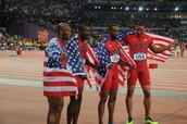 I would like to be on the U.S. Mens Olympic Track Team