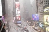 Frozen time square