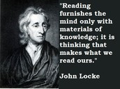 One of john  Locke quotes