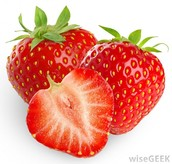 Where are strawberries grown? When is it peak season?