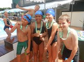 Our winning relay team